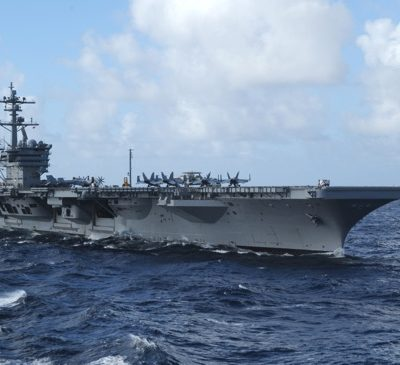 The Nimitz-class aircraft carrier USS Carl Vinson (WikiCommons / U.S. Navy photo by Mass Communication Specialist 2nd Class Joel Carlson/Released).